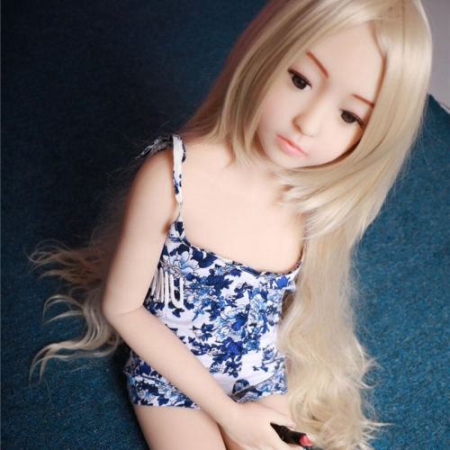 128cm IRONTech doll TPE doll Flat chest Sex Dolls Lily